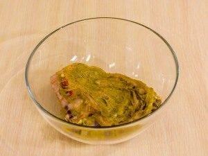 Баранина, запеченная в медово-горчичном соусе - 2