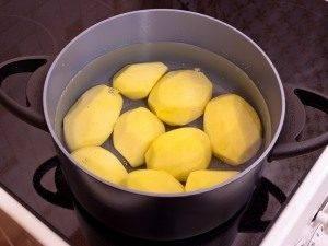 Картофель с творожным кремом - 0
