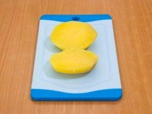 Картофель с творожным кремом - 4