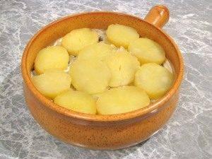 Запеканка с грибами и картофелем - 9