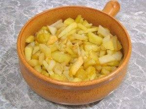 Печень с картофелем, запеченные в горшочке - 5