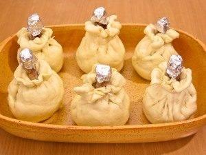 Куриные ножки с картофельно-грибной начинкой в мешочке - 11