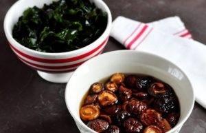 Мисо-суп с водорослями, грибами и тофу - 0