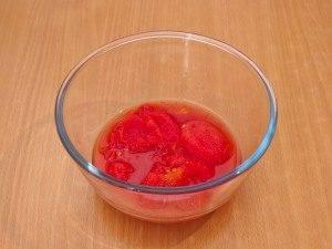 Томатный крем-суп с макаронами - 0