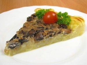 Запеканка с грибами и картофельным пюре - 3