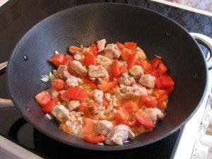 Свинина с фасолью и помидорами - 7