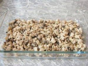 Лазанья с грибами и куриным филе - 1