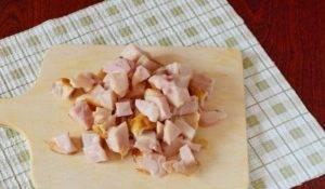 Суп с копченой курицей и сыром - 0