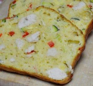 Закуска из курицы с сыром и овощами - 5