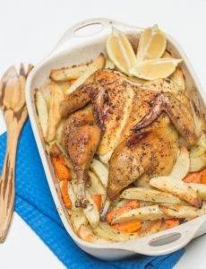 Запеченная курица с картошкой - 5