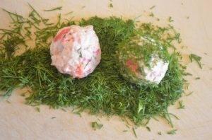 Сырные шарики с семгой - 5