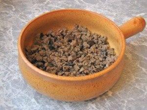 Запеканка с картофелем, фаршем и грибами - 2