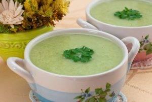 Суп-пюре с брокколи и куриным филе - 3