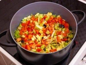 Овощной суп с фаршем - 0