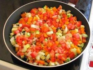 Лазанья вегетарианская - 1