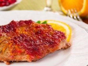 Мясо, запеченное в брусничном соусе - 6