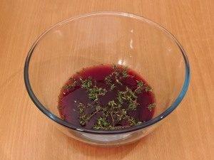Перепела, маринованные в вине, запеченные с овощами и беконом - 0