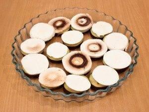 Баклажаны, запеченные с помидорами и грибами - 4
