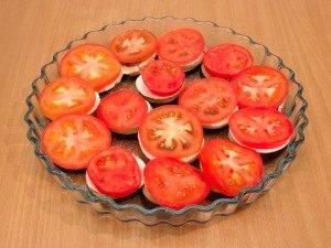 Баклажаны, запеченные с помидорами и грибами - 5