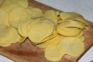 Картофельная лазанья с ветчиной - 0