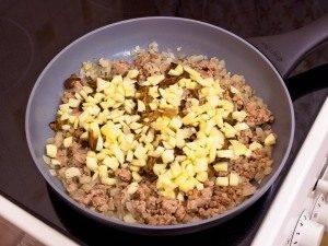 Цукини, фаршированные мясом, грибами и рисом - 4