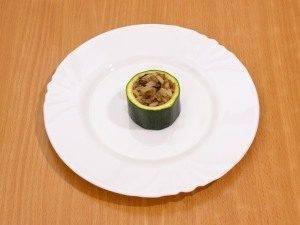 Цукини, фаршированные мясом, грибами и рисом - 6