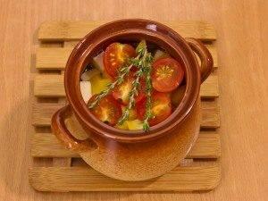 Суп с бараниной и овощами в горшочке - 1