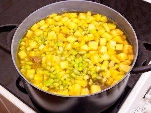 Суп с тыквой «Краски осени» - 5