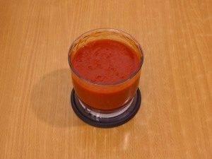 Томатный суп с охотничьими колбасками и фасолью - 0