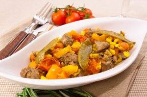Говядина, запеченная с овощами - 7