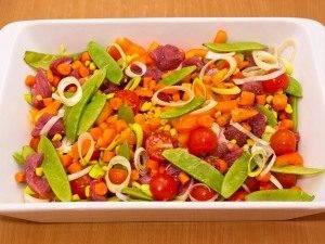 Говядина, запеченная с овощами - 5