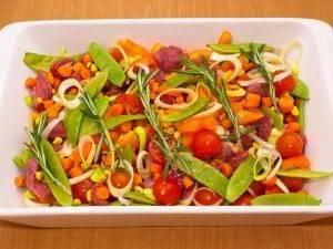 Говядина, запеченная с овощами - 6