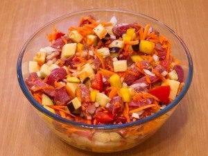 Суп в горшочке с говядиной и овощами - 0