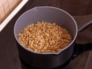 Баклажаны, фаршированные гречкой, грибами и беконом - 0
