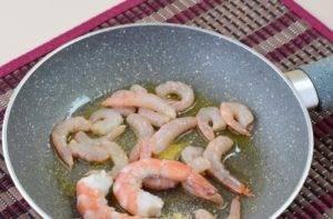 Тыквенный суп с креветками - 2