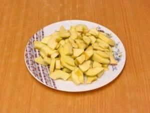 Утиные окорочка, тушенные с яблоками, брусникой и апельсинами - 3