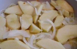 Необычная галета с яблоками и луком - 1