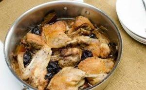 Запеченная утка с черносливом - 7