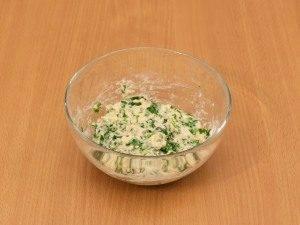 Суп с цыпленком, овощами и клецками с зеленью - 1