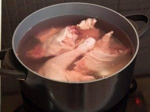 Суп с цыпленком, овощами и клецками с зеленью - 0