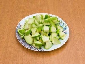 Баранья корейка с яблоками, черносливом и булгуром - 1