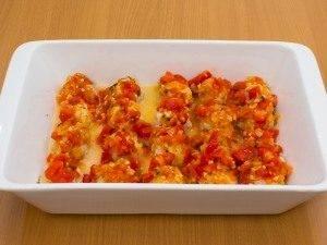 Тефтели с моцареллой в томатном соусе - 7