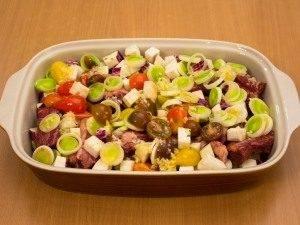 Свиные ребрышки, запеченные с овощами - 2