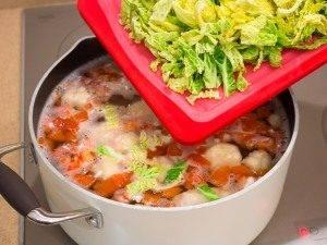 Суп с савойской капустой и рисом - 0