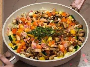 Рагу с овощами и грибами - 6