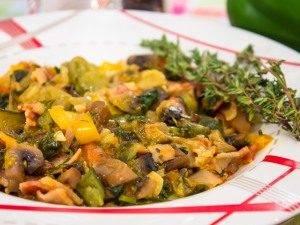 Рагу с овощами и грибами - 9