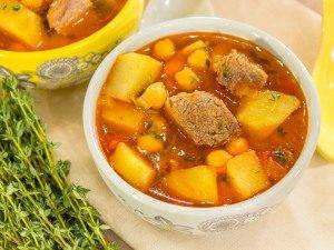 Суп с нутом и бараниной - 8