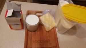 Сырные воздушки на молоке - 0