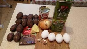 Испанская картофельная паэлья - 0