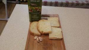 Чесночные гренки на оливковом масле - 0